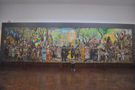 Foto de museo mural diego rivera ciudad de m xico cartel for Un mural de diego rivera