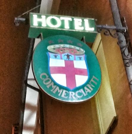 Art Hotel Commercianti: Hotel Sign