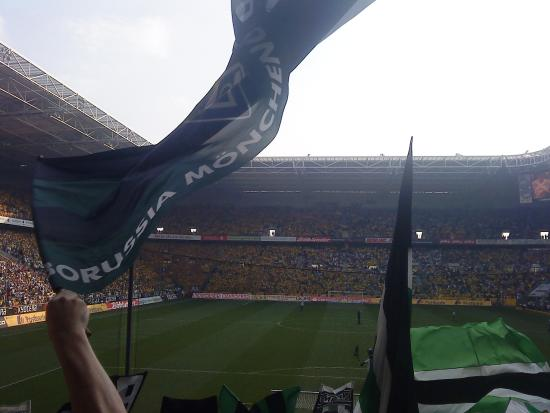 Borussia-Park: MG - Dortmund 2013