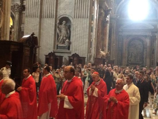 Villa Adriana, Italien: cardinals