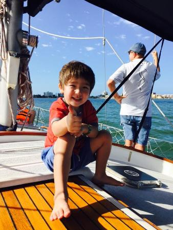 Dolphin Landings Charter Boat Center: My 3 year old approves this trip!