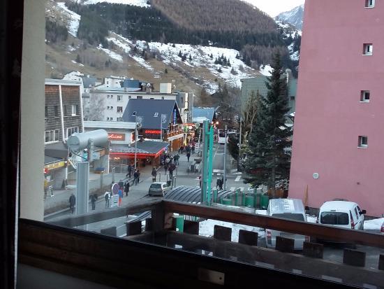 Hotel Le Provencal: Les Deux Alpes village