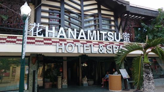 Saipan Hanamitsu Hotel & Spa: 正面