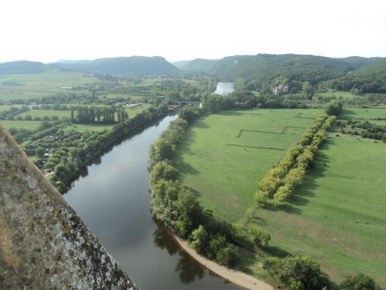 Chateau de Beynac: お城からの眺め