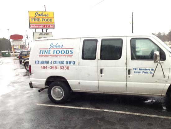 John's Fine Food: John's Catering Van