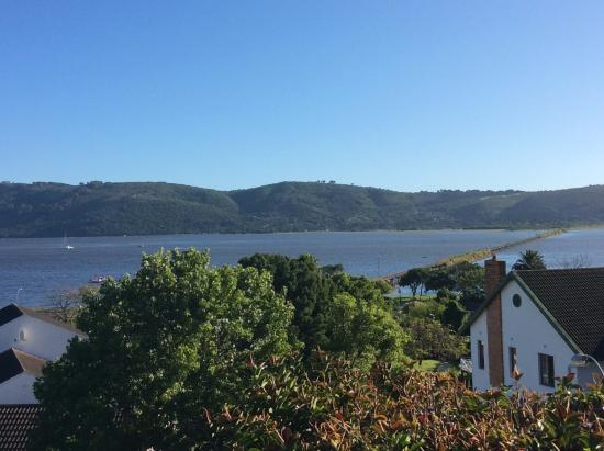 Paradise Heads: view from our deck