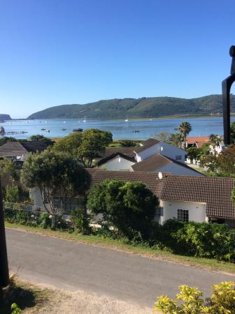 Paradise Heads: view from our bedroom window