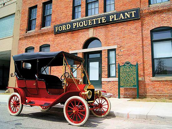 Ford Piquette Plant Picture Of Detroit Michigan