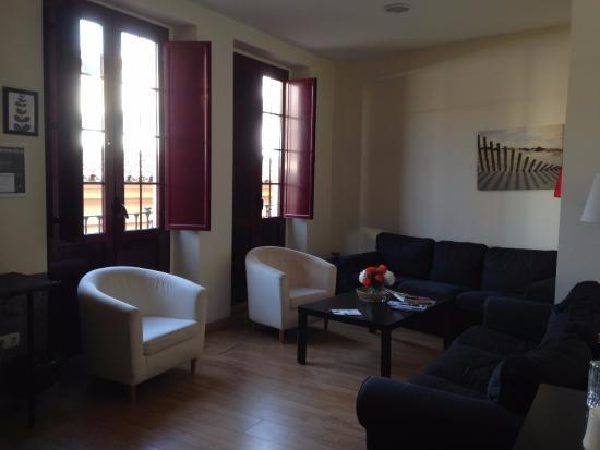 Grand Luxe Hostel: Гостиная