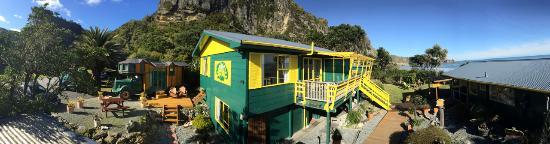 Punakaiki Beach Hostel: Panorama