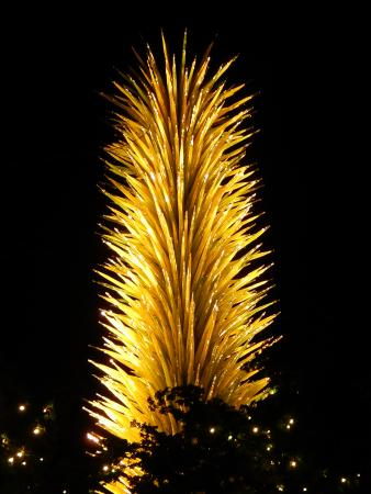 Seattle Center : Chihuly glass sculpture