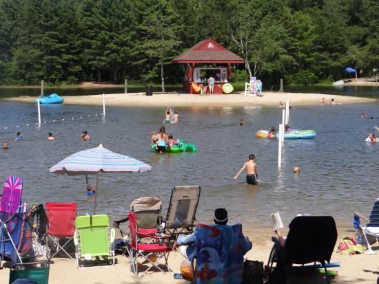 East Wareham, MA: One of Maple Park Swimming Beaches