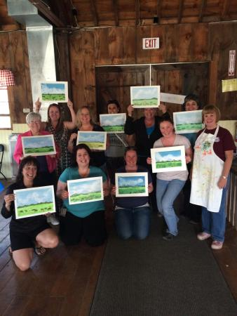 East Wareham, MA : Paint Party Fun