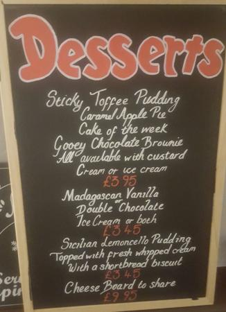 ‪‪Sandhurst‬, UK: Great new desserts menu‬