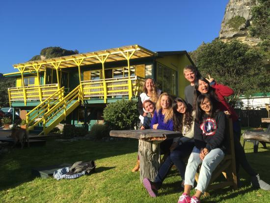 Punakaiki Beach Hostel : Hostel guests