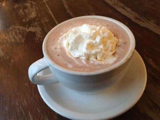 Bowen Island, Canada: Hot Chocolate