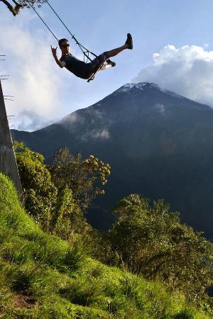 Tungurahua Province, Ekuador: casa del arbol - ecuador