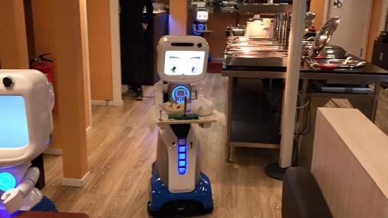 robot restaurangen lidköping