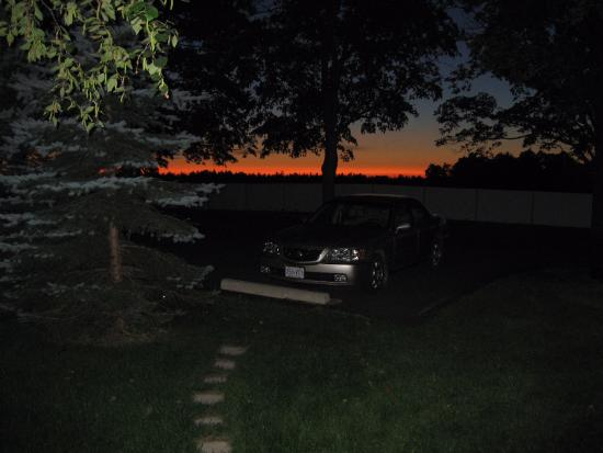 Sunset over Grand Valley