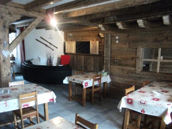 Vallouise, França: salle à manger