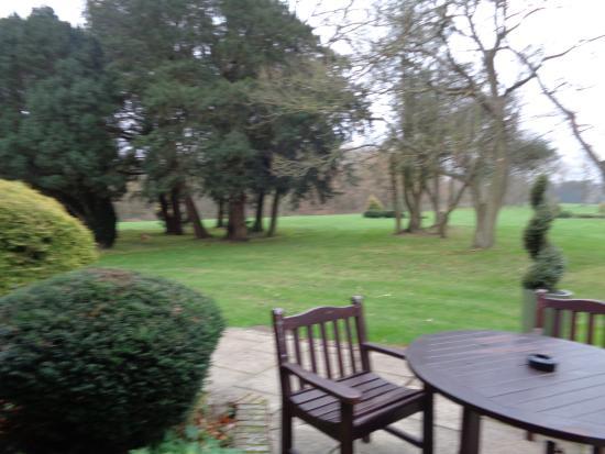 Denham, UK: Grounds from terrace