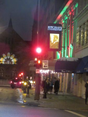 Fitzgerald Theater: outside