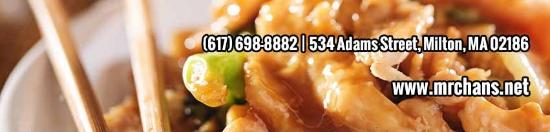 Milton, MA: We offer catering, delivery, dine in or take out!
