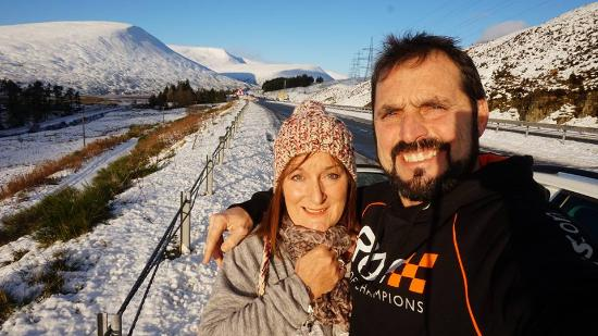 Aviemore and the Cairngorms, UK: Selfie lol