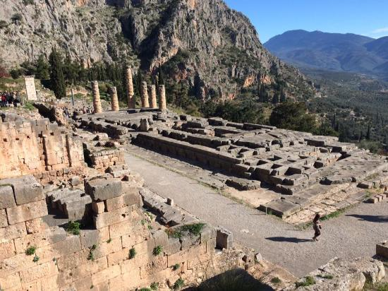 Oracle - Picture of Delphi Ruins, Delphi - TripAdvisor