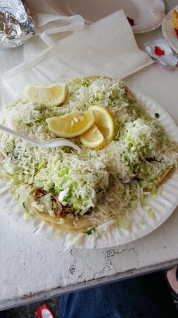 La Puente, Californien: 4 street tacos