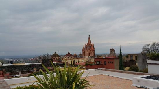 Belmond Casa de Sierra Nevada: view from terrace