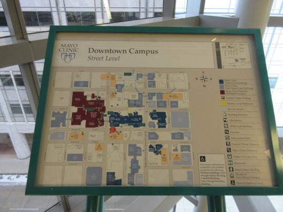 map - Picture of The Plummer Building - Mayo Clinic
