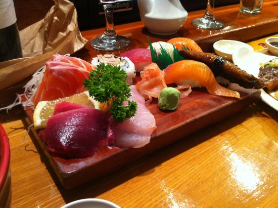 Eastwood, أستراليا: Sashima Platter