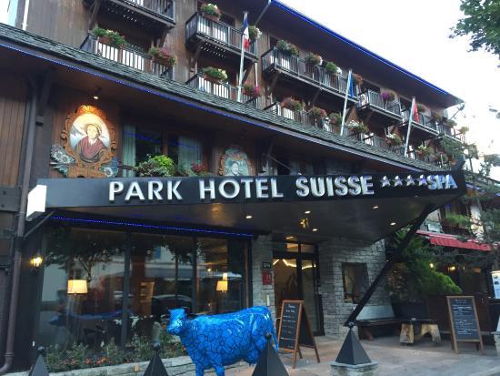 Park Hotel Suisse & Spa: 外観