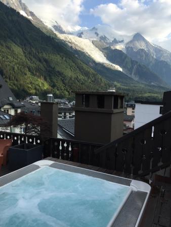 Park Hotel Suisse & Spa: 屋上のジャグジー