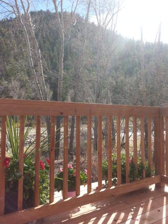 Drake, CO: New deck addition to the River Cabin