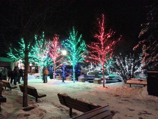 Drake, CO: Christmas time in Estes Park!