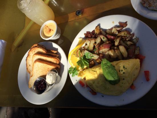 Solana Beach, Καλιφόρνια: Omelette