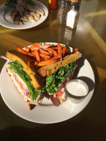 Solana Beach, CA: Pilgrim Turkey Sandwich