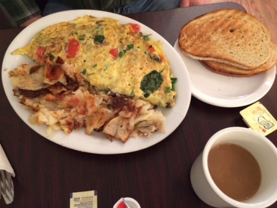 Havertown, PA: Veggie Omelet