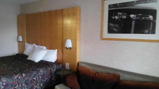 Colfax, Carolina del Norte: Newly upgraded king room