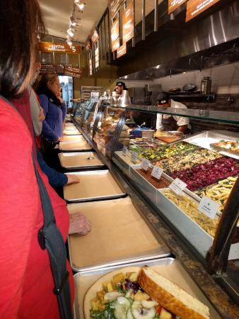 Urban Plates: The cafeteria-like line amid the chaos