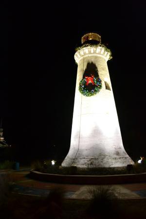 ปาสคากูลา, มิซซิสซิปปี้: Christmas at the Round Island Lighthouse