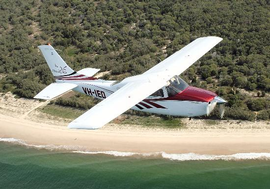 Ceduna, Australien: Scenic flights over the beach