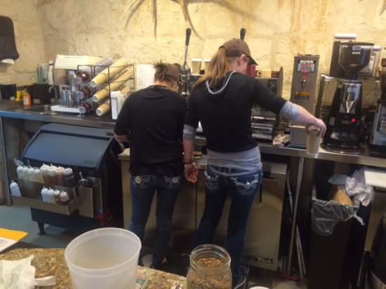 Dogleg Coffee House : It's the jeans!
