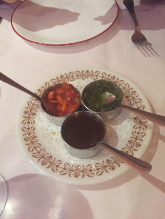 Little India Cafe: Sauces