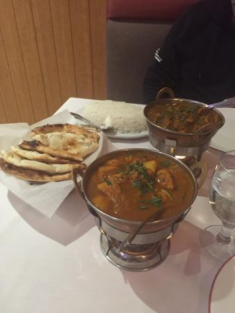 Little India Cafe : Delicious dinner!
