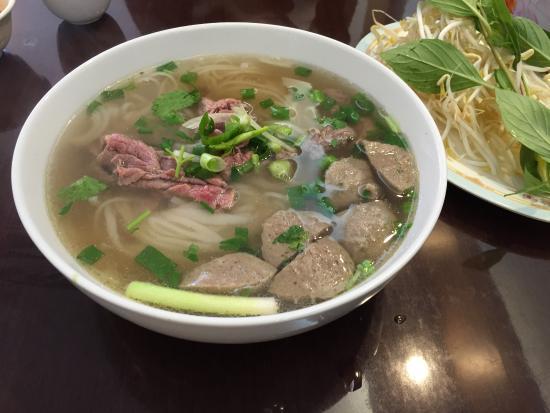 Eastwood, Australia: Pho Beef and Beef Ball Noodle Soup