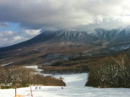 下倉スキー場の景色