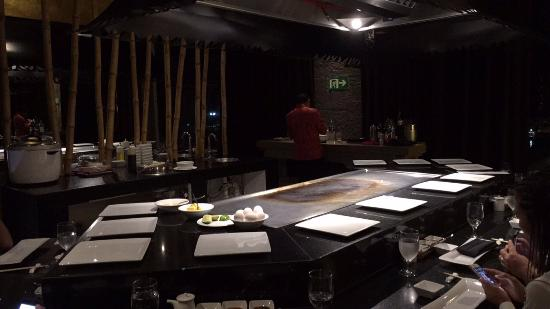 Hibachi Table Picture Of Momo Cancun TripAdvisor - Hibachi table restaurant